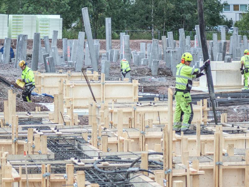 Muottityöt ja betonityöt